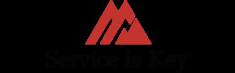 Service is Key Logo